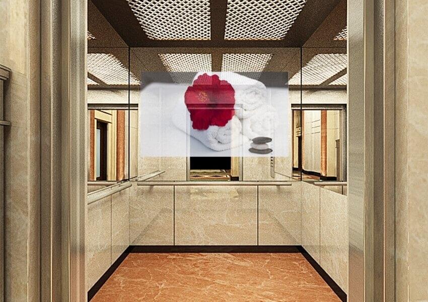 Mirrorvue Mirror Tv Installed Inside The Elevator