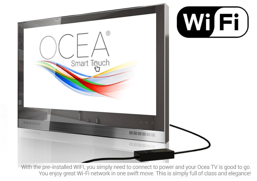 OCEA Bathroom TV  All-round 4K Ultra HD Waterproof Bathroom TV