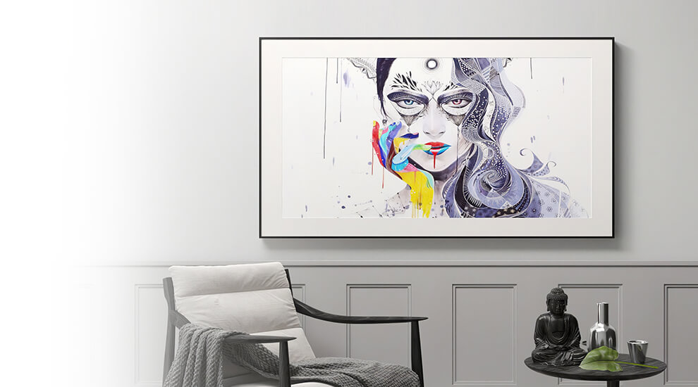 Bring the art gallery in your home.