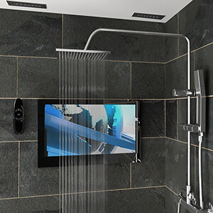The right TV in your shower.